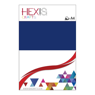 Royal Blue Heat Transfer Flex Sheets x 6