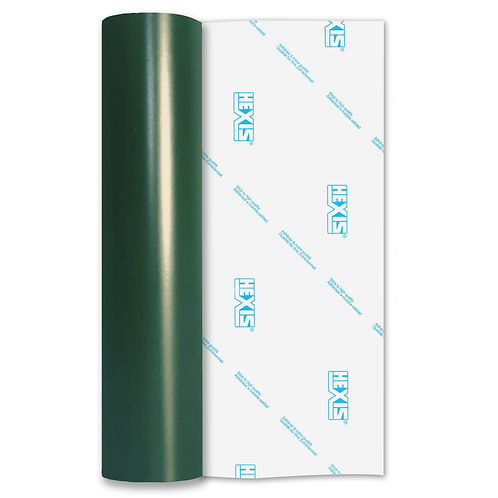 Bottle Green Standard Permanent Matt Self Adhesive Vinyl