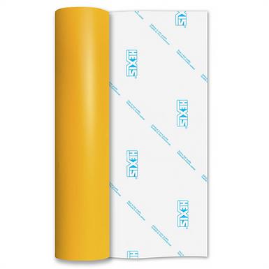 Intense Yellow Standard Permanent Matt Self Adhesive Vinyl