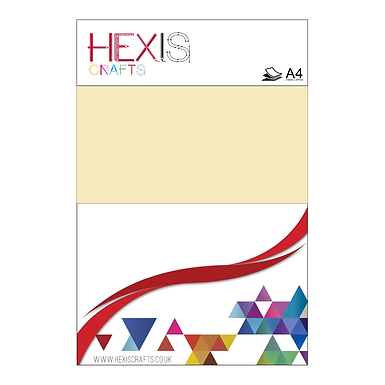 Beige Heat Transfer Flex Sheets x 6