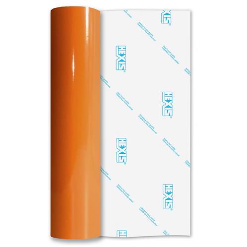 Mandarin Orange Economy Permanent Gloss Self Adhesive Vinyl
