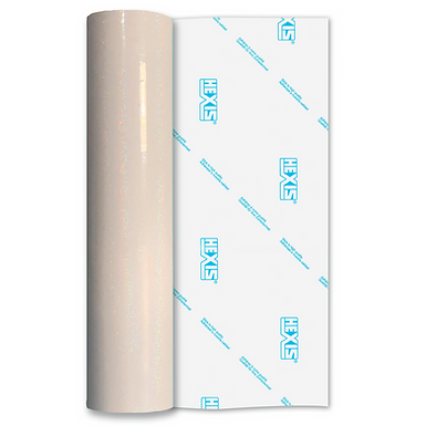 Holo Glitter Transparent Clear Gloss Self Adhesive Vinyl
