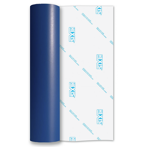 Ultramarine Blue Standard Removable Matt Self Adhesive Vinyl