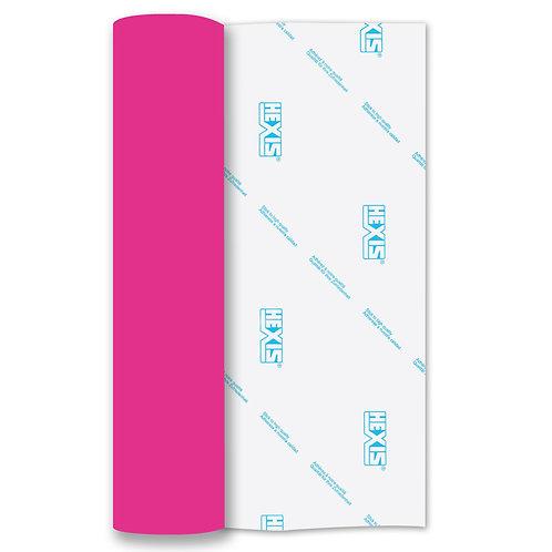 Neon Pink RAPIDFLEX Heat Transfer Flex 500mm Wide x 1m Long