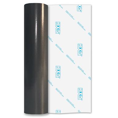 Charcoal PVC FREE Permanent Gloss Self Adhesive Vinyl