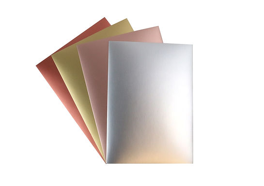 A4 Card Pack - Metallic Smooth