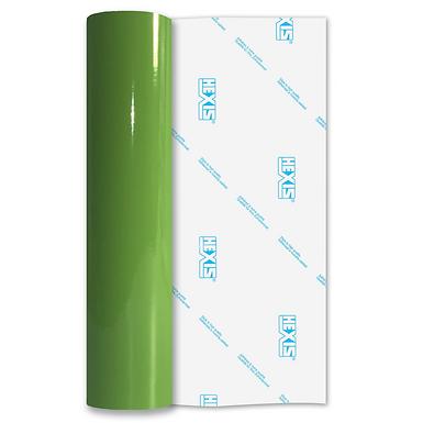 Mint Green Economy Permanent Gloss Self Adhesive Vinyl