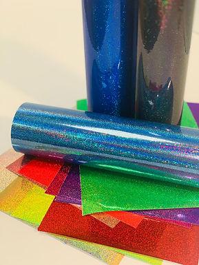 Holo Glitter Gloss Self Adhesive Vinyl Bundle