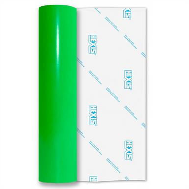 Neon Green Gloss Self Adhesive Vinyl