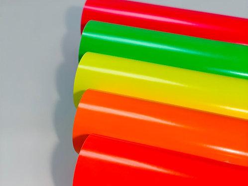 Neon Gloss Self Adhesive Vinyl Bundle
