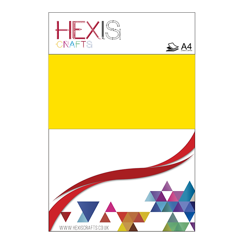 Yellow Neon RAPIDFLEX Heat Transfer Flex Sheet