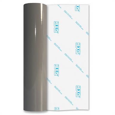 Mouse Grey Economy Permanent Gloss Self Adhesive Vinyl