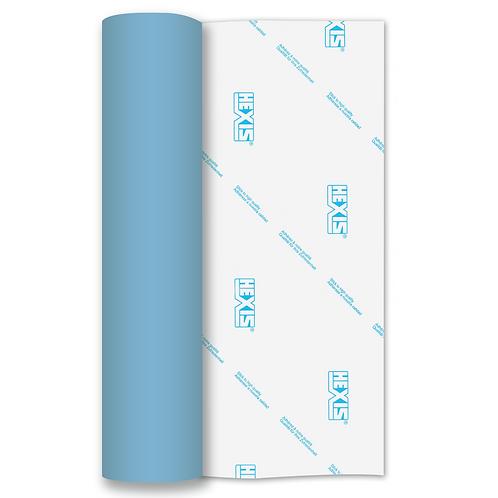 Sky Blue RAPIDFLEX Heat Transfer Flex 305mm Wide x 500mm Long