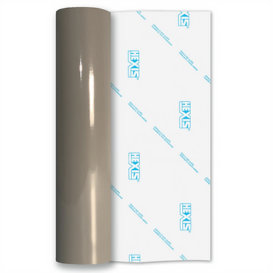 Mouse Grey Standard Permanent Gloss Self Adhesive Vinyl