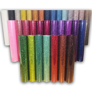 A4 Glitter Box With 1 x 33 Sheets of Glitter Flex