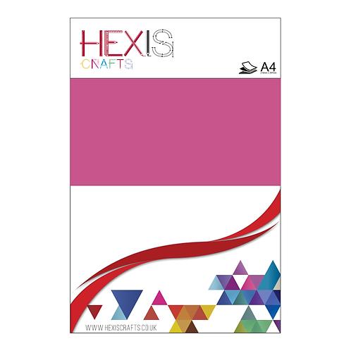 Bubblegum Pink Gloss Premium Self Adhesive Sheets x 8