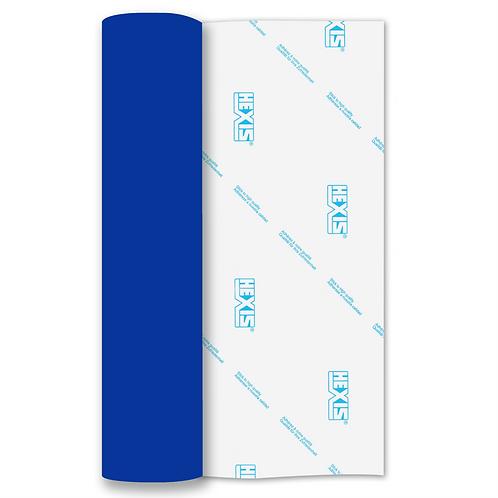 Royal Blue Brushstroke Self Adhesive Vinyl 250mm x 610mm