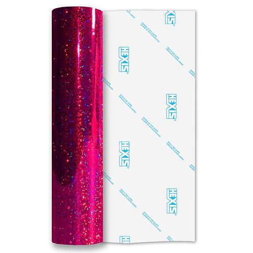 Pink Sequin Gloss Self Adhesive Vinyl