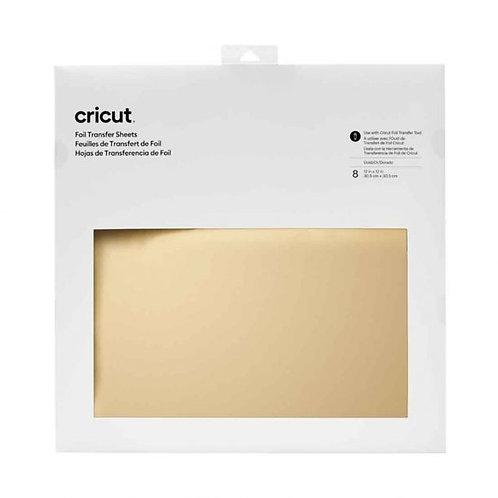 Cricut Gold Foil Transfer Sheets 30cm x 30cm x 8