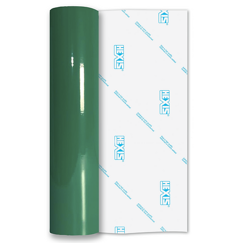 Medium Green Standard Permanent Gloss Self Adhesive Vinyl