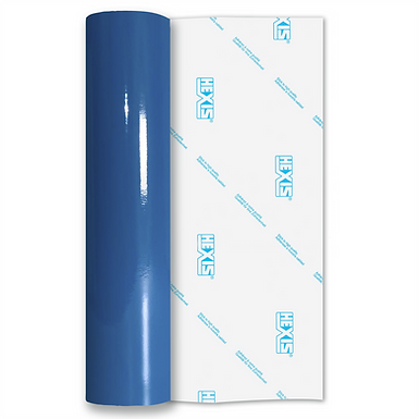 Peacock Blue Standard Permanent Gloss Self Adhesive Vinyl