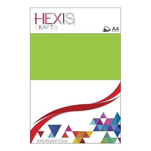 Light Green Heat Transfer Flex Sheet