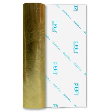 Gold Galvanised Self Adhesive Vinyl