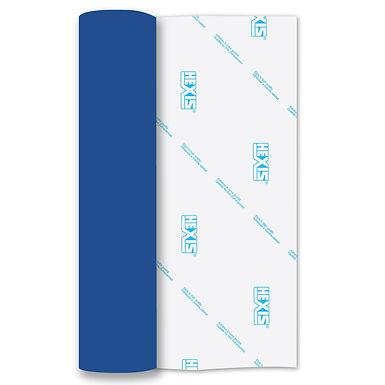 Blue Heat Transfer Flock 140mm Wide x 500mm Long