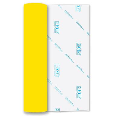 Neon Yellow RAPIDFLEX Heat Transfer Flex 500mm Wide x 1m Long