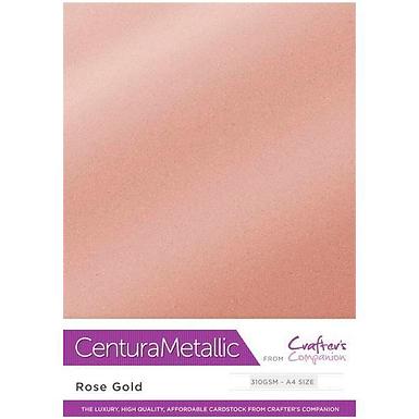 Rose Gold - Centura Pearl Metallic Card Crafter's Companion