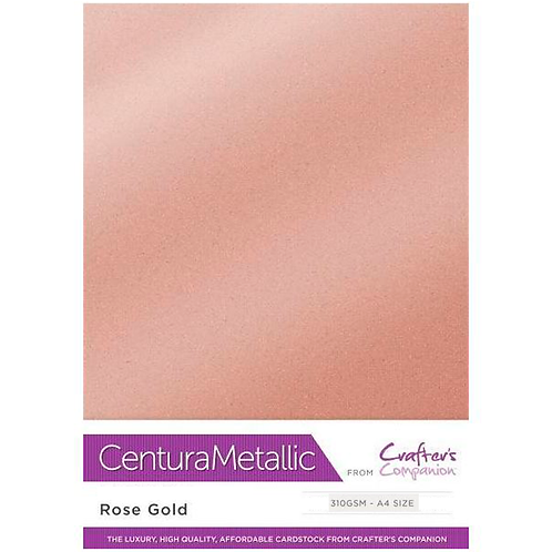 Rose Gold - Centura Pearl Metallic Card Crafter's Companion