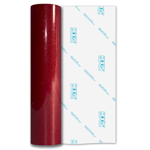 Garnet Red Sparkle HEX'Press Gloss Self Adhesive Vinyl