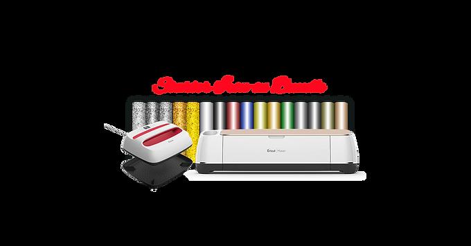 "Cricut Maker® Machine With Easy Press2 12"" x 10"" & Starter Iron-on Bundle"