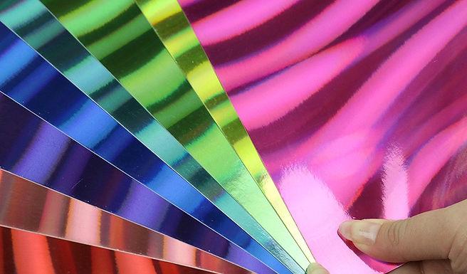 A4 Card Pack - Mirror Rainbow