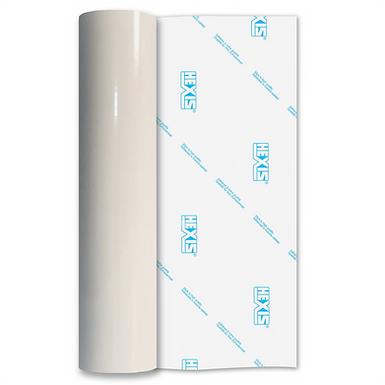 White Economy Permanent Gloss Self Adhesive Vinyl