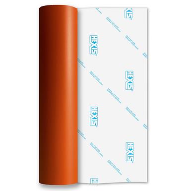 Orange Standard Removable Matt Self Adhesive Vinyl