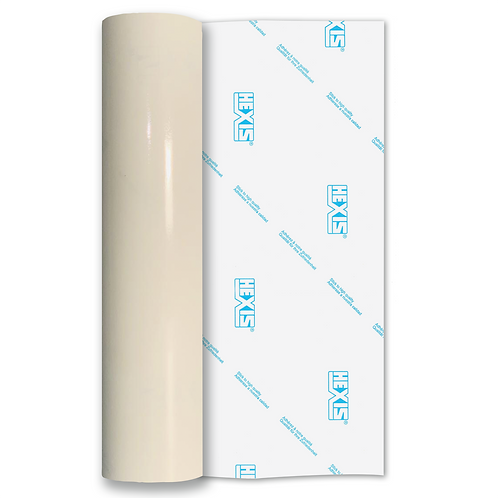 Clear Standard Permanent Gloss Self Adhesive Vinyl