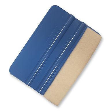 Blue Poly Blend Scraper With Premium Felt
