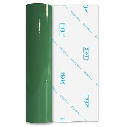 Vivid Green Premium Permanent Gloss Self Adhesive Vinyl