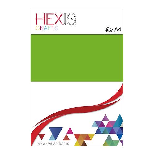 Apple Green Heat Transfer Flex Sheets x 6