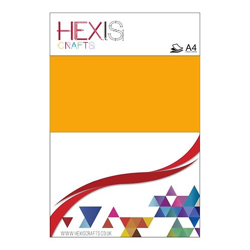 Medium Yellow Heat Transfer Flex Sheet