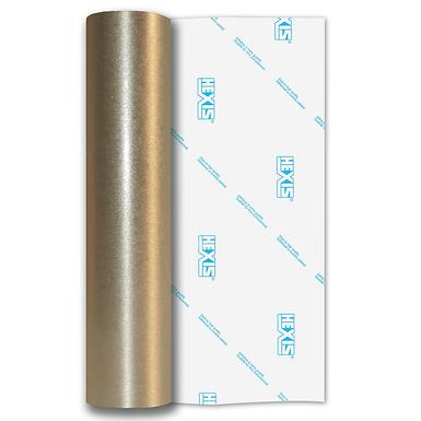 Silver Coarse Brush Self Adhesive Vinyl