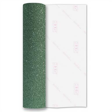 Jade Green Premium Glitter Flex HTV