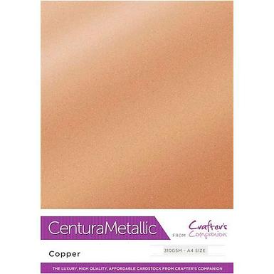 Copper - Centura Pearl Metallic Card Crafter's Companion