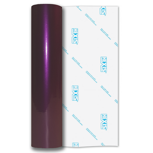 Purple Shimmer Metal Gloss Self Adhesive Vinyl