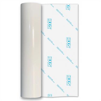 White Standard Permanent Gloss Self Adhesive Vinyl