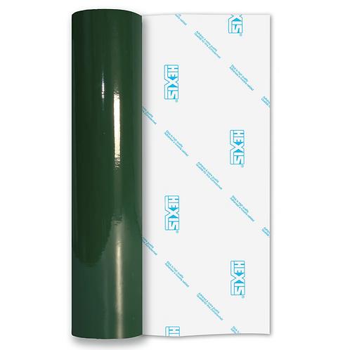 Larch Green Standard Permanent Gloss Self Adhesive Vinyl