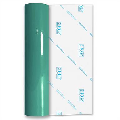 Turquoise Standard Permanent Gloss Self Adhesive Vinyl