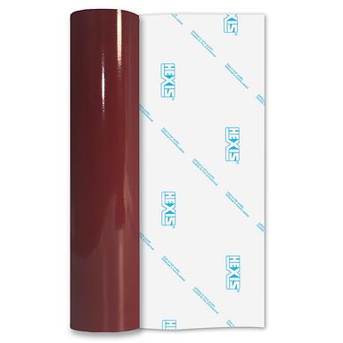 Wine Red Premium Permanent Gloss Self Adhesive Vinyl