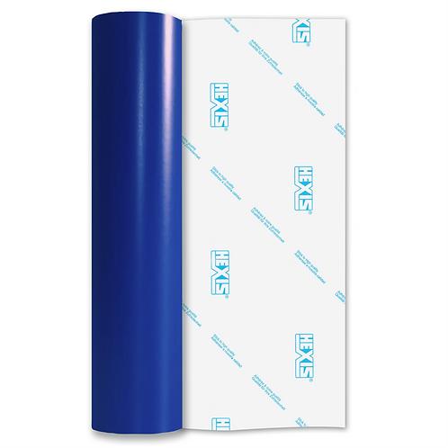 Electric Blue Standard Permanent Matt Self Adhesive Vinyl